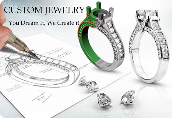 Custom designer jewelry service