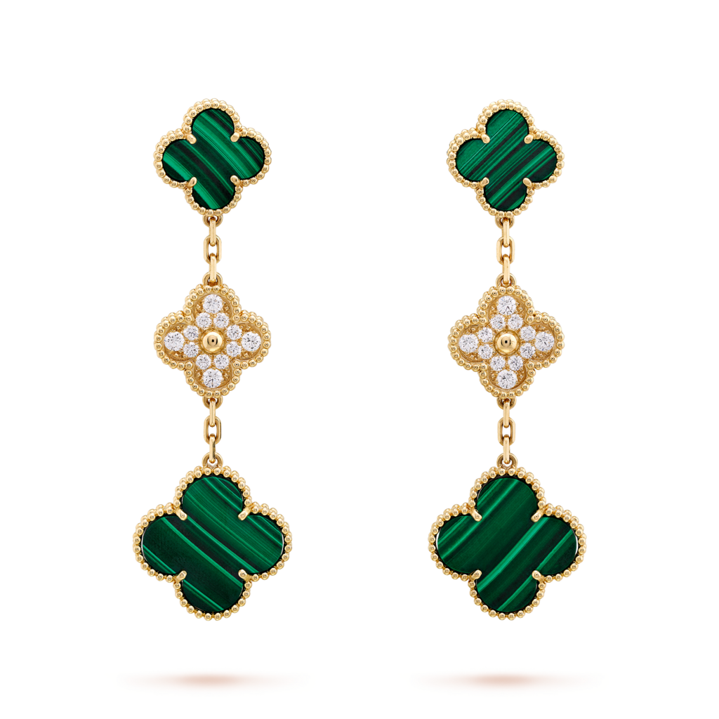 Van Cleef & Arpels Magic Alhambra 3 Motif Earrings