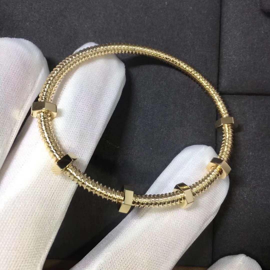 18K Gold Ecrou de Cartier Bracelet B6049517