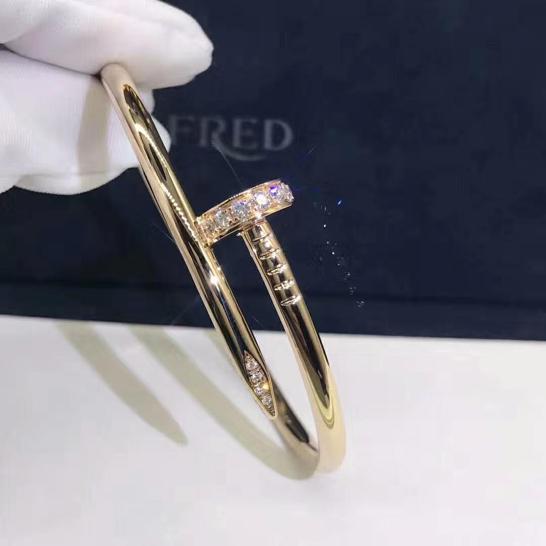 18K Gold Cartier Juste un Clou Bracelet B6048617