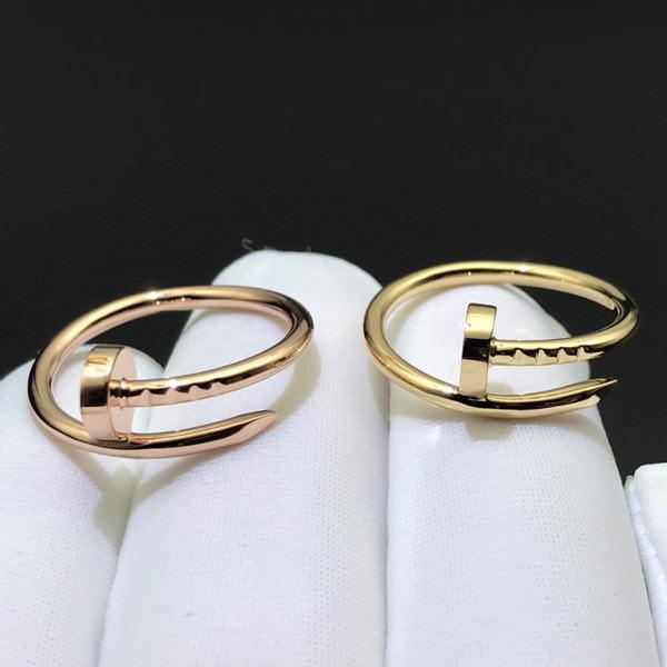 18K Gold Juste Un Clou Rings B4092600 & B4092500