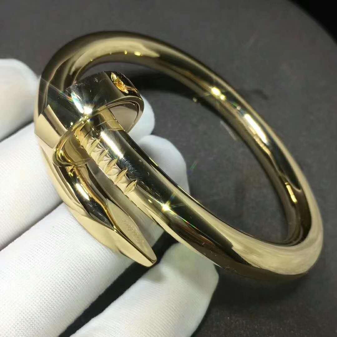 Cartier Juste Un Clou Bracelet Large Model In 18k Yellow